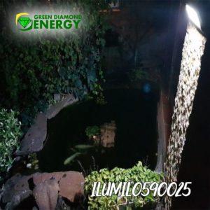 luces para jardin solar
