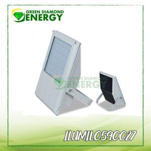 luces para jardin -paneles solares