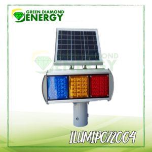 Luces de emergencia con panel solar
