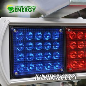 panel solar luces led
